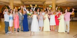 Rocks and Roses Wedding Planners Peter and Gemma Atlantis Bahía Real Corralejo 2015